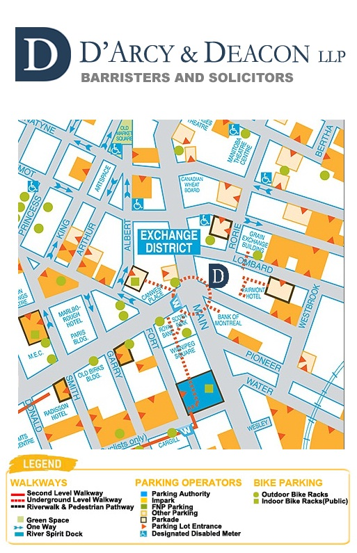 Parking Map Winnipeg